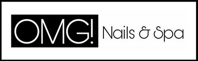 OMG Nails & Spa  Logo